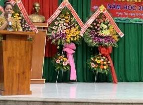 Trường  TH-THCS-THPT bán trú- nội trú Nguyễn Thị Minh Khai Vũng Tàu Khai Giảng năm học 2020 -2021
