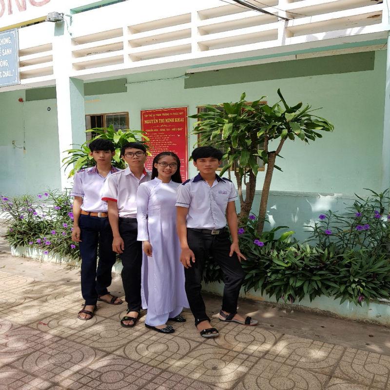 Học sinh giỏi trường TH-THCS-THPT Nguyễn Thị Minh Khai Vũng Tàu năm họci 2017-2018